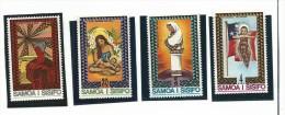 SAM005 - SAMOA - NATALE 1975 - N. 363-66 - CATALOGO YVERT - Samoa