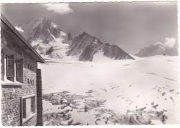 228   -  LE  TOUR  (Hte-Savoie)  -  Le  Refuge  Albert  1er ,  L'Aiguille  Du  Chardonnet  Et  Le  Glacier  Du  Tour - Chamonix-Mont-Blanc
