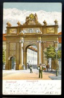 Innsbruck Triumpfpforte / 10836 Verlag B. Lehrburger / Around Year 1904 / Old Postcard Circulated 1911 - Innsbruck