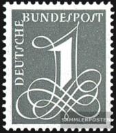 BRD (BR.Deutschland) 285X (completa Edizione), Filigrana 4 MNH 1958 Punto - BRD
