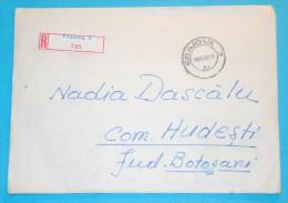 Registered 1970 - Affranchissement Sur Le Dos, Franking On The Back, L'escrime, Radio - Covers & Documents