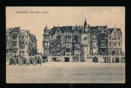 DUINBERGEN :: HOTEL MAES ET DIGUE- ACHTERAAN PLAKKERKENS VAN INPLAKBOEK - Knokke