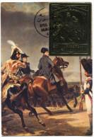 MANAMA THEME NAPOLEON CARTE MAXIMUM DU PA 39 NAPOLEON A IENA OBLITERATION MANAMA AJMAN APRIL. 5. 1970 - Napoleone