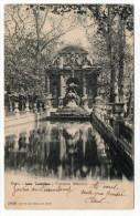 PARIS 6°--1904--Jardin Du Luxembourg --Fontaine Médicis  N° 5090  éd  Louis Burgy--cachet  PARIS 33 - Arrondissement: 06