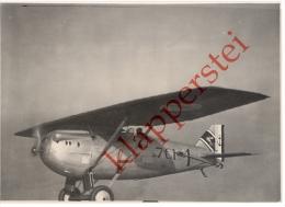 83 - Var - Hyères, Véritable PHOTO Escadrille 7C1 Dewoitine En Vol Base Aviation Navale Du Palyvestre Insigne Hyppocampe - Hyeres