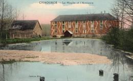 CHAOURCE -  LE MOULIN ET L'ARMANCE - BEAU PLAN - COULEUR -  TOP !!! - Chaource