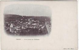 69  Thizy Vue Prise Du Château - Thizy