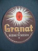 Old Advertising Label - Original GRANAT Biere Beer Bier - Bière
