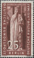 Berlin (West) 173 (completa Edizione) MNH 1957 Culturali - Berlin (West)