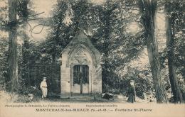 MONTCEAUX LES MEAUX - Fontaine Saint Fiacre - Francia