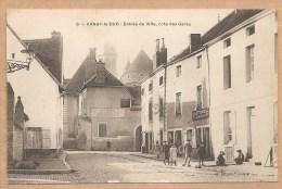6 -- ARNAY Le DUC - Entrée De Ville, Cote Des Gares - LETRENNE, MENUISIER - HOTEL PERREAU - Arnay Le Duc