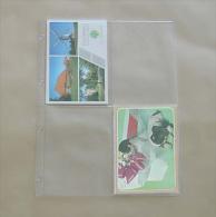 100  Feuilles Transparentes Pour 4 Cartes Postales - Matériel