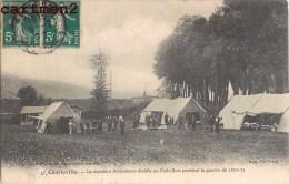 CHARLEVILLE LA DERNIERE AMBULANCE ETABLIE AU PETIT-BOIS PENDANT LA GUERRE 1870-71 08 ARDENNES - Charleville
