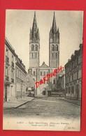 Calvados - CAEN - Église Saint-Etienne - Abbaye Aux Hommes - Façade Ouest ... - Caen