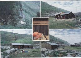 SIXT  (Hte-Savoie)  -  LE  PAYS  DES  CASCADES.  -  Le  Plateau  De  Sales  Et  Le  Chalet  Refuge - Sixt-Fer-à-Cheval