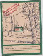 Protège Cahier :     Peiture  Valentine - Buvards, Protège-cahiers Illustrés