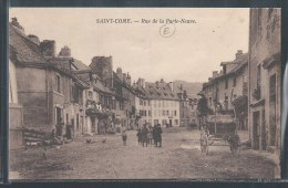 - CPA 12 - Saint-Come, Rue De La Porte-Neuve - France