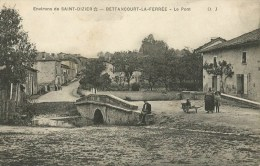 Bettancourt-la-Ferrée (Haute-Marne) Le Pont - Autres Communes