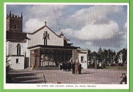 THE SHRINE AND CALVARY / KNOCK / CO. MAYO..../ Carte Vierge - Mayo