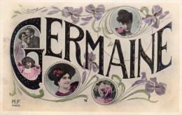 Fantaisie, Carte Prenom Germaine - Prénoms