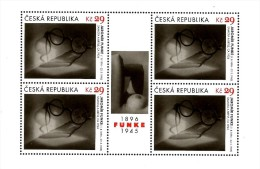 Czech Republic - 2014 - Art On Stamps - Jaromir Funke - Solitude And Spectacles - Mint Miniature Sheet - República Checa