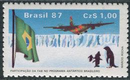 Brasil 1987. Michel #2207  MNH(**)/Luxe. Airplane (TS27) - Brazil