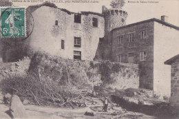 Cpa Château De La GOUTTE, Aux SALLES, Près NOIRETABLE - Noiretable