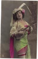 CPA FANTAISIE FEMME / FEMME ARTISTE LIPPSON LA CIGALE - Femmes