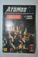 ATOMOS N°7 - André CAROFF - Miss Atomos Contre KKK (Ku Klux Klan)  - AREDIT Comics Pocket  1970 - Eclipso