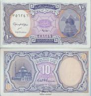 Ägypten Pick-Nr: 189b Bankfrisch 10 Piastres - Egipto