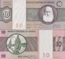 Brasilien Pick-Nr: 193b Bankfrisch 1974 10 Cruzeiros - Brasilien