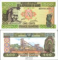 Guinea Pick-Nr: 31a Bankfrisch 1985 500 Francs - Guinea