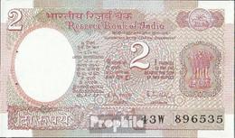 Indien Pick-Nr: 79i Bankfrisch 1985 2 Rupees - Indien