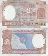 Indien Pick-Nr: 79j Bankfrisch 1985 2 Rupees - Indien