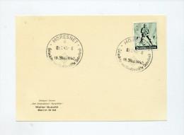 1940 3.Reich Postkarte Mit Sondermarke  Karte Mi 745 SST Moresnet  Heimkehr Ins Grossdt. Vaterland - Germany