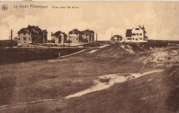 BELGIQUE - FLANDRE OCCIDENTALE - KNOCKE -  Le Zoute Pittoresque - Villas Dans Les Dunes. - Knokke
