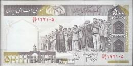 Iran (Persien) Pick-Nr: 137A D Bankfrisch 2003 500 Rials - Iran