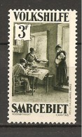 SARRE - 1931  CARITAS Scena In Un Interno  Nuovo*  MLH - Organisaties