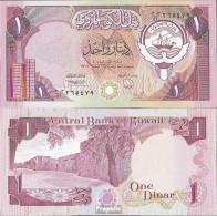 Kuwait Pick-Nr: 19 Bankfrisch 1992 1 Dinar - Koweït