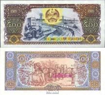 Laos Pick-Nr: 31a Bankfrisch 1988 500 Kip - Laos