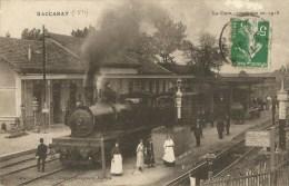 Baccarat (54) La Gare Construite En 1913 - Baccarat