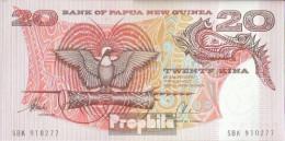 Papua-Neuguinea Pick-Nr: 10b Bankfrisch 20 Kina - Papouasie-Nouvelle-Guinée