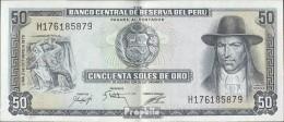 Peru Pick-Nr: 107 Gebraucht (III) 1975 50 Soles Oro - Peru