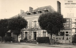 CPSM  -   LA  GUERCHE  DE  BRETAGNE  (35)   HOTEL    GROSSET - PINAULT - La Guerche-de-Bretagne