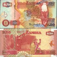 Sambia Pick-Nr: 37e Bankfrisch 2006 50 Kwacha Seeadler - Sambia