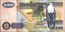 Sambia Pick-Nr: 38e Bankfrisch 2005 100 Kwacha Seeadler - Sambia