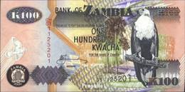 Sambia Pick-Nr: 38f Bankfrisch 2006 100 Kwacha Seeadler - Sambia