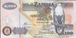 Sambia Pick-Nr: 38h Bankfrisch 2009 100 Kwacha - Zambie