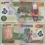 Sambia Pick-Nr: 44c Bankfrisch 2004 1.000 Kwacha (plastic) - Sambia
