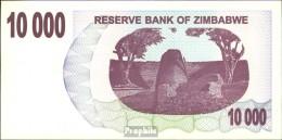 Simbabwe Pick-Nr: 46b Gebraucht (III) 2006 10.000 Dollars - Simbabwe